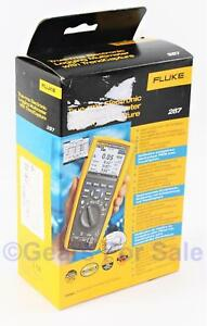 Fluke 287 Digital Volt Ohm Meter New In Box