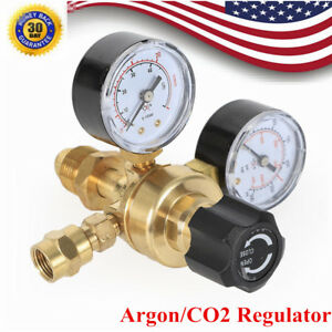 Industrial Arg co2 Mig Welding Regulator 2 Gauge For Welder Bottle 4000psi