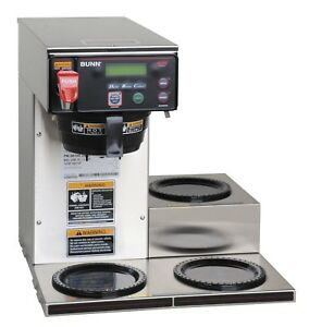 Bunn 38700 0009 Axiom Dv 3 Lower Automatic Commercial Coffee Brewer With 3 Wa