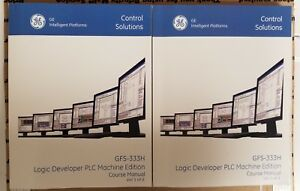 Ge Machine Edition Plc Programming And Maintenance Course Manuals