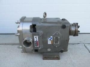 Spx Waukesha Cherry burrell 060 U2 Positive Displacement Pump 90 Gpm 600 Rpm