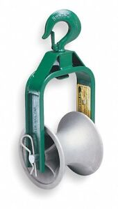 Roller 6 Dia X 5 Width Cable Puller Sheave For Use With Any Cable Puller