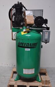 Speedaire 5hp Electric Air Compressor 2 Stage 80 Gallon