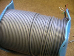 22awg 4c 4 Conductor Shielded With Ground Wire Cable
