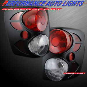 Set Of Pair Black 3d Altezza Style Taillights For 1999 2004 Jeep Grand Cherokee