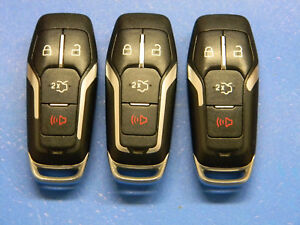 Lot Of 3 Ford Keyless Entry Smart Remote Fob Oem Trunk M3n A2c31243800