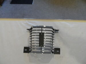 1969 69 Mercury Cougar Center Chrome Grille Xr7 Eliminator New Perfect Replacmnt