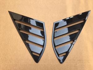 Louvers Rear Panel Window Side Vent For Ford Fusion Mondeo 4d Decor Accessories