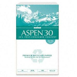 Boise Aspen 30 Recycled Copy And Laser Paper case Of 5000