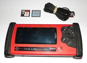 Snap On Tools Solus Scanner 10 4 Scan Tool W 12v Adapter Free S