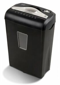 Aurora High security 8 sheet Micro cut Paper Credit Card Shredder Black