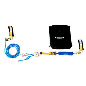 Werner L102030 30 2 man Horizontal Lifeline W Cross arm Straps Ratchet Set