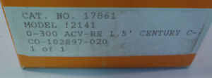 Simpson Panel Meter Model 2141 0 300 Volts Ac Nos