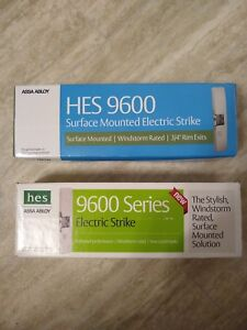 Lot Of 2 Assa Abloy Hes 9600 Series Electric Strike 9600 12 24 630