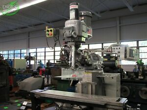 Bridgeport Ez Trak Dx Cnc Vertical Milling Machine