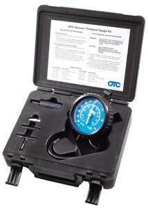 Vacuum Pressure Gauge Kit With Adapter For Most Applications Testing Components