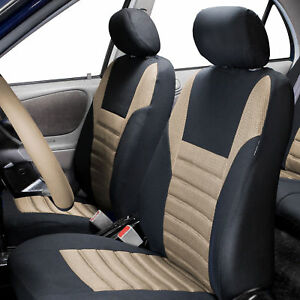 Front Bucket Seat Covers Pair For Auto Sedan Suv Van Turck 11 Colors