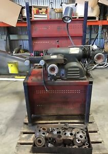 Ammco 4000 Combo Rotor Drum Brake Lathe W bench Adapters Used Working