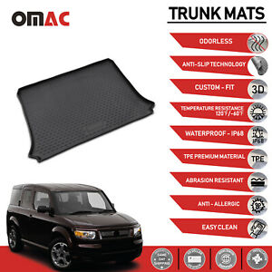 Cargo Liner Trunk Floor Mat 3d Molded Black For Honda Element 2003 2011