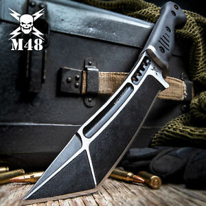 United Cutlery M48 Tactical Fixed Blade Knife Bowie Hunting Tanto w Sheath