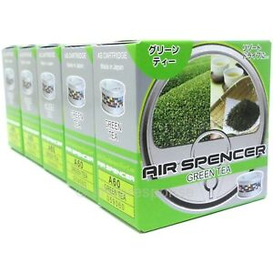 Air Spencer As Cartridge Green Tea Automotive car Air Freshener Made In Japan X5