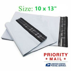 10x13 Poly Mailer Shipping Envelopes Mail Bags 50 100 200 300 400 500 800 1000