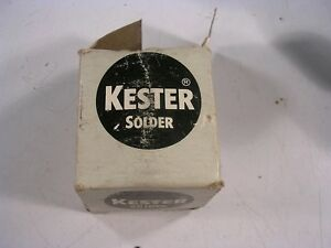 Kester 285 Rosin Mildly Activated Sn95 Sb05 Soldering Wire 1lb Qq s 571