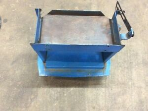 1993 1998 Ford New Holland 1210 1215 1220 Compact Tractor Battery Holder Shelf