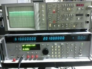 Gigatronics 7100 Synthesized Signal Generator Tested 10mhz 20ghz 15dbm Sweep