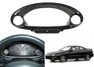 Dual Cluster Gauge Bezel Pod Dash For 1994 2001 Acura Integra New Free Shipping