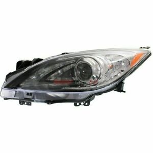 New Hid Head Lamp Lens Housing Left Fits 2010 2013 Mazda 3 Bbn251041s