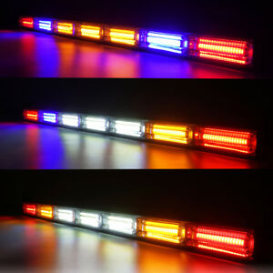 30 Utv Led Strobe Light Bar Rear Chase W Brake Reverse Light For Rzr Atv Utv