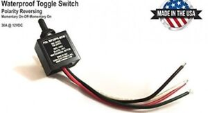 Toggle Switch On Off Waterproof 3 Position Reverse Polarity Dc Motor Control