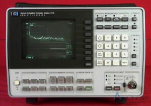 Hp agilent keysight 3561a Spectrum Analyzer 0 000125hz To 100khz