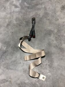 2004 2016 Ford F 250 F350 Extended Cab Rear Seat Belts Stone Gray