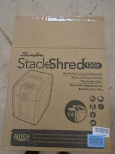 Swingline Paper Shredder Auto Feed 130 Sheet Capacity Super Cross cut