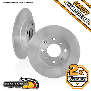 Fits 2 Front Rotors 2000 2001 2002 2003 2004 Ford Focus Lx Se Zts Ztw Zx3 Zx5