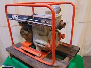 Multiquip Contractor Grade 2 Inlet Outlet Honda Gas Engine Trash Water Pump