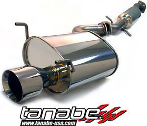 Tanabe Medalion Touring Cat back Exhaust 00 05 Lexus Is300