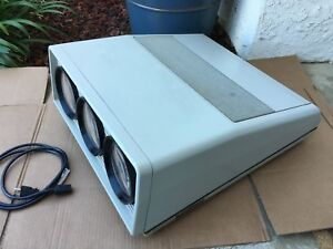 Vintage Sony Videoscope Vph1020q Color Video Projector