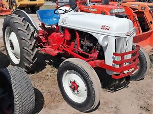 Genuine 1952 Ford 8n Tractor