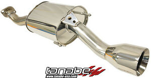 Tanabe Medalion Touring Axle back Exhaust 2009 Honda Insight