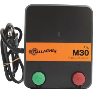 Gallagher M30 Electric Fence Charger 1 Each