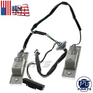 New Rear Trunk Release Switch Licence Plate Lamp For Chevrolet Cruze 2011 2014