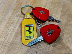 Ferrari Like Mondial 308 328 Modern Folding Key Door Red Yellow Three Button
