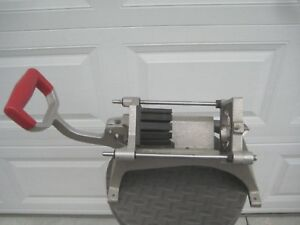 Commercial Cutter French Fry Maker Lincoln Redco Cut Potato Cutter French Fry