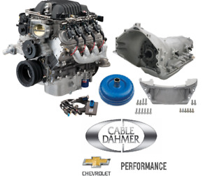 Gm Performance Lsa Supercharged 6 2l Engine 556 Hp 4l85e Connect Cruise Kit