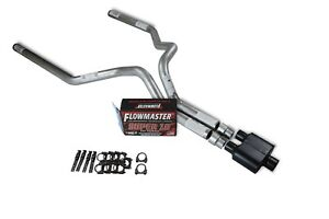 Chevy Gmc 1500 Truck 15 18 3 Dual Exhaust Kits Flowmaster Super 10 Slash Tip
