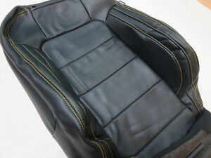 New Oem 2015 2016 2017 Ford Mustang Upper Back Replacement Seat Leather Cover