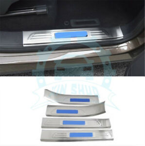 Door Side Welcome Pedal Door Sill Scuff Guard Pedal Refit For Touareg 2011 2017